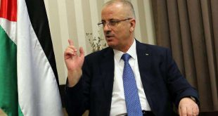 رئيس الوزراء الفلسطيني رامي الحمد الله،