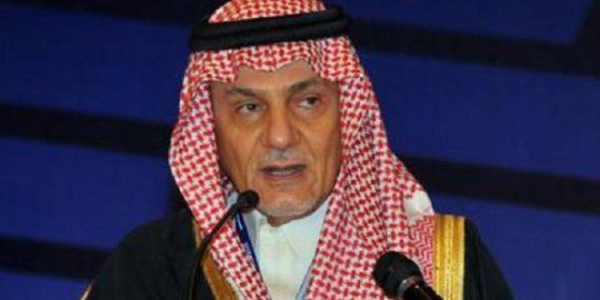 الأمير تركي الفيصل رئيس المخابرات السعودية