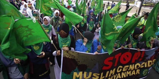 مظاهرات بإندونيسيا