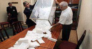 الانتخابات فرز الاصوات