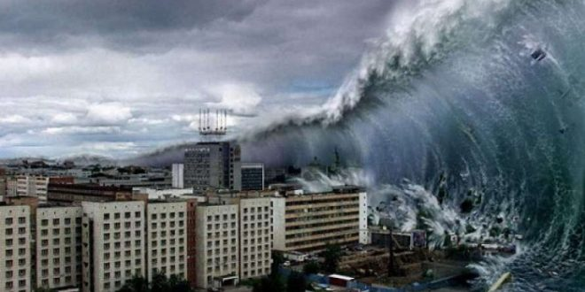 تسونامي البحر