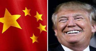 ترامب وعلم الصين