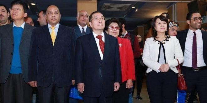 الصين-سفير الصين بالقاهرة