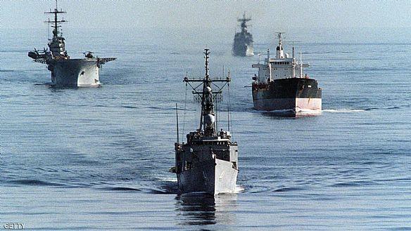 سفن إيرانية