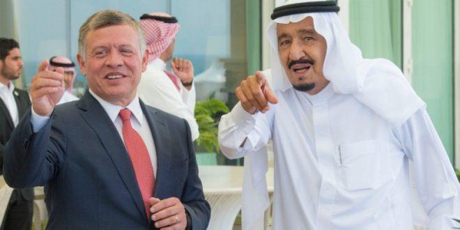 الملك سلمان ـ والعاهل الأردني