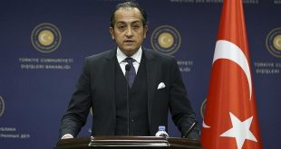 المتحدث باسم الخارجية التركية حسين مفتي أوغلو