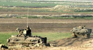 جيش الأحتلال علي حدود غزة
