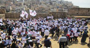 احتفالات طرابلس اللبنانية بتحريرها من  الإفرنجة