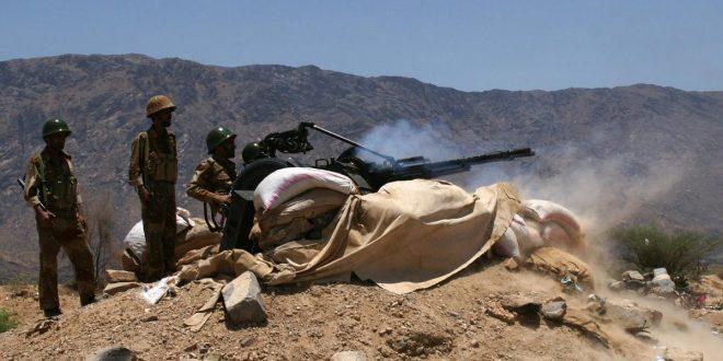 أرشيفية لقوات الجيش اليمني خلال مواجهات مع القاعدة في أبين