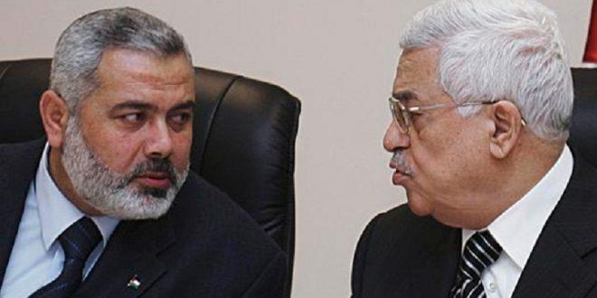 محمود عباس-إسماعيل هنية