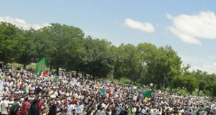 نيجيريا-مظاهرة