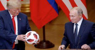 دونالد ترامب-فلاديمير بوتين