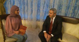 قصة كفاح إسلامية  أذربيجان قنصل