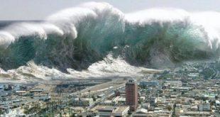 زلزال تسونامي