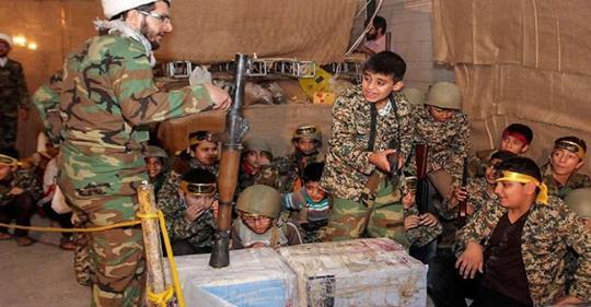 قوات الحرس الايراني