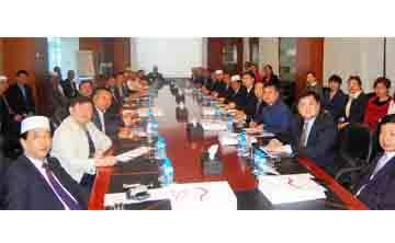 ممثلين قطاعات الاعمال الصينية