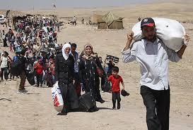 لاجئين