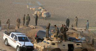 تجمع لقوات أمن أفغان