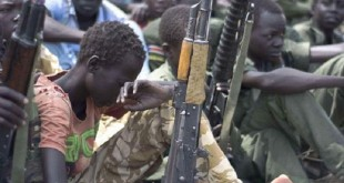تجنيد أطفال في جنوب السودان