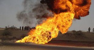 حرائق آبار النفط-العراق