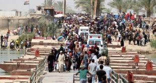 نازحين-الأنبار العراقية