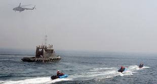 مناورة بحرية مشتركة -ايران والعراق