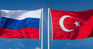 علم تركيا وروسيا