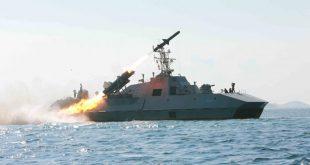 صواريخ باليستية نحو البحر قرب اليابان