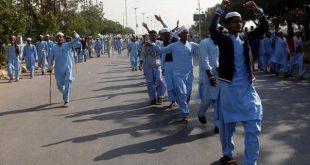 محتجون باكستان