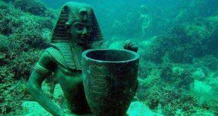 الآثار المصرية الغارقة