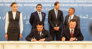اللجنة المشتركة بين الإمارات وروسيا